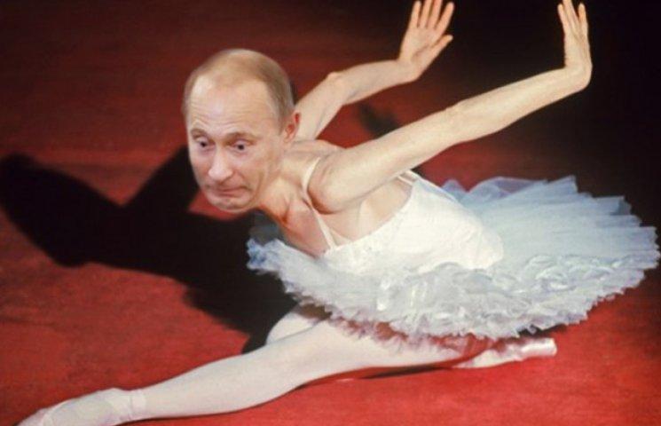 Дерганый Путин, на которого можно смотреть бесконечно
