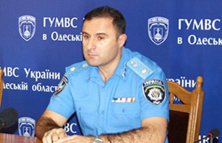 Лорткіпанідзе призначив нових керівників райвідділів міліції Одеси