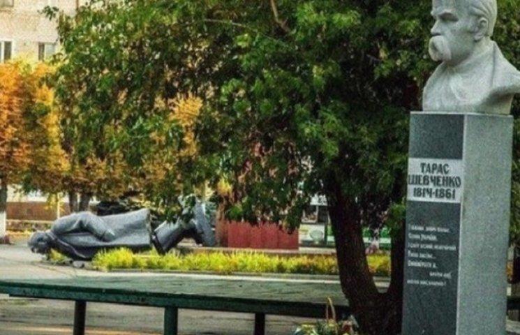 На Дніпропетровщині вимагають повернути Леніна з розбитою головою