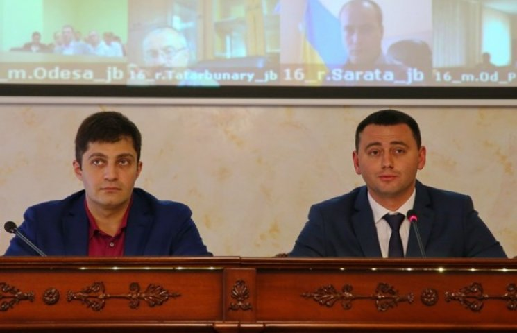 Сакварелідзе представив свого заступника на Одещині