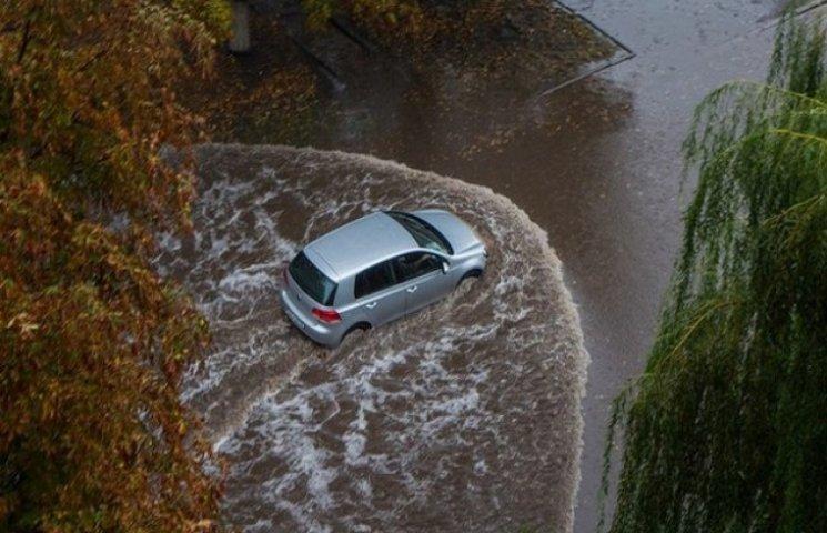 Як виглядає затоплений Львів