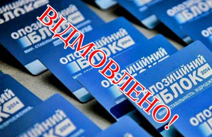 """Через численні порушення """"Опоблок"""" зняли з виборів у Бердянську"""