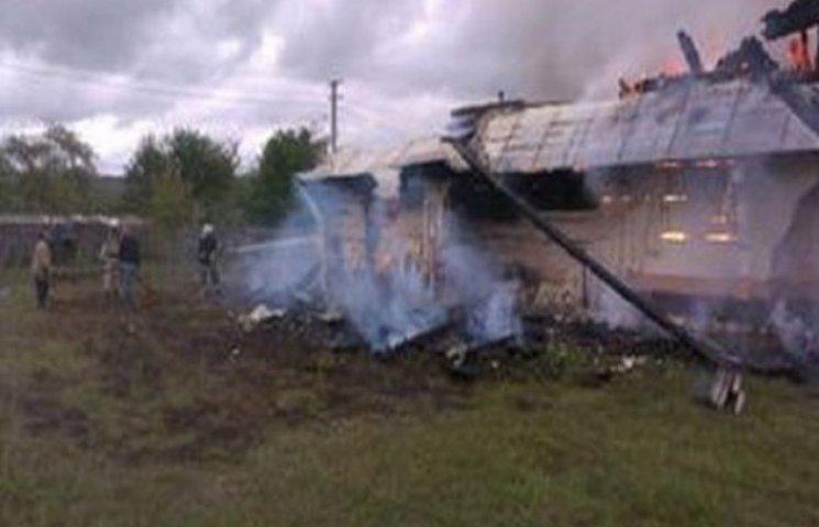 У Львівській області згоріла церква - пам