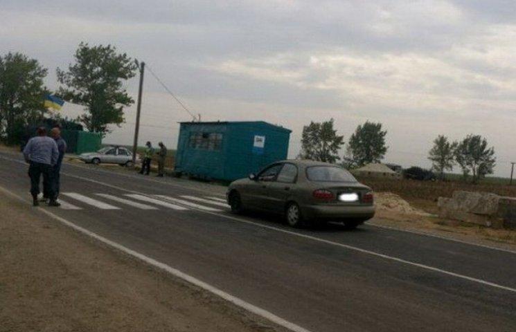 Криворізькі активісти почали копати бліндажі на кордоні з Кримом