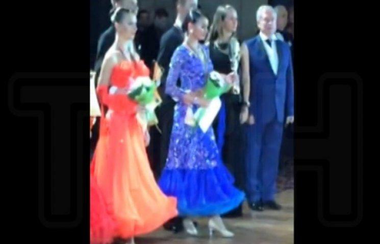 Дочка втікача Калєтніка танцює за Україну