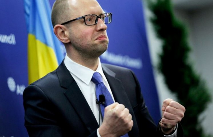 """Яценюк посмеялся над украинцами со своим """"социальным газом"""""""