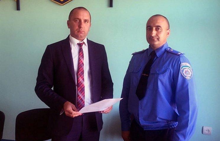 Педос підвищив інспектора райвідділку до керівника поліції Чернівецького району