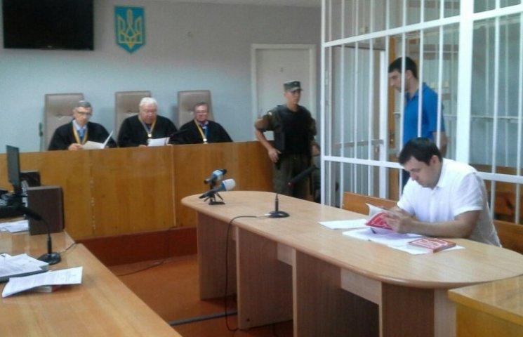 Новая Врадиевка: в апелляционном суде коп-АТОшник заявил, что не бил Цукермана