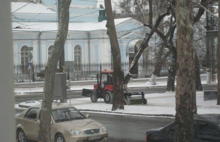 Миколаївські дорожники розробили інтерактивну карту прибирання снігу