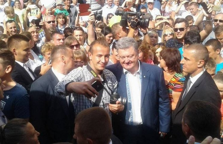 День города в Виннице празднуют Порошенко, Гройсман, министры и нардепы