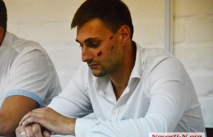 Николаевский мажор заявил, что во время дебоша в центре города был трезв