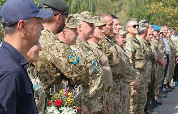 Як 37-ий мотопіхотний батальйон у Запоріжжі річницю святкував