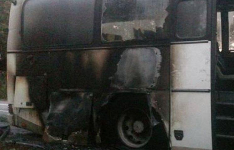 На Вінниччині загорівся рейсовий автобус з пасажирами