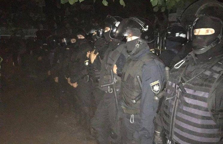 Семенченко подробно рассказал о ночной драке на Святошино
