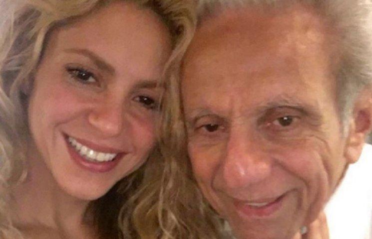 Шакира показала 75-летнего папу-именинника