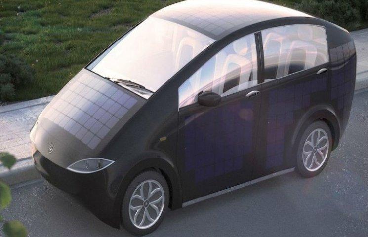 Скільки коштує електромобіль на сонячних батареях