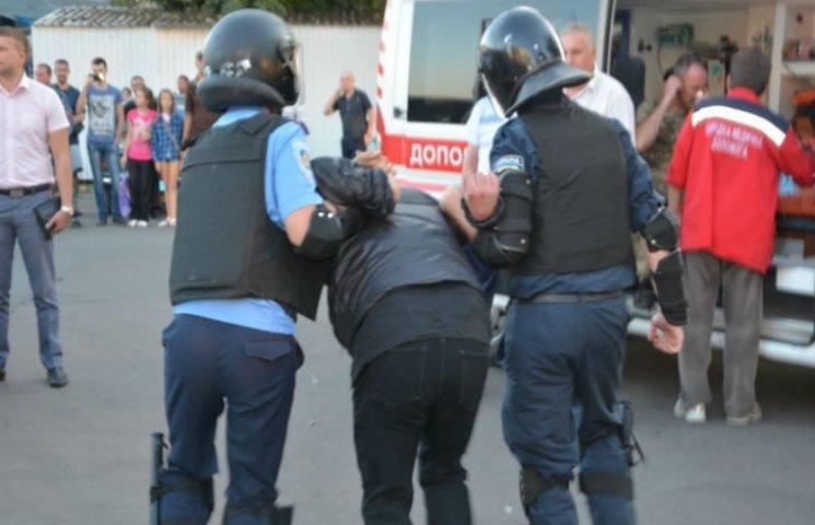 """Після невдалої спроби захоплення """"Черкасиобленерго"""" мітингувальників допитують"""