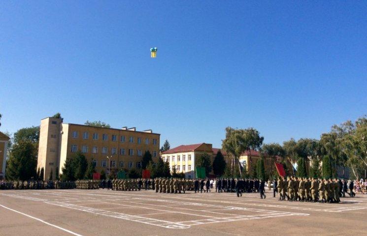 Как в Хмельницком молодые пограничники на верность Украине присягали