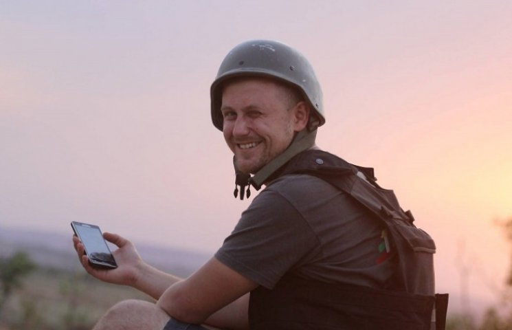 Військовий журналіст Волобоєв про будні…