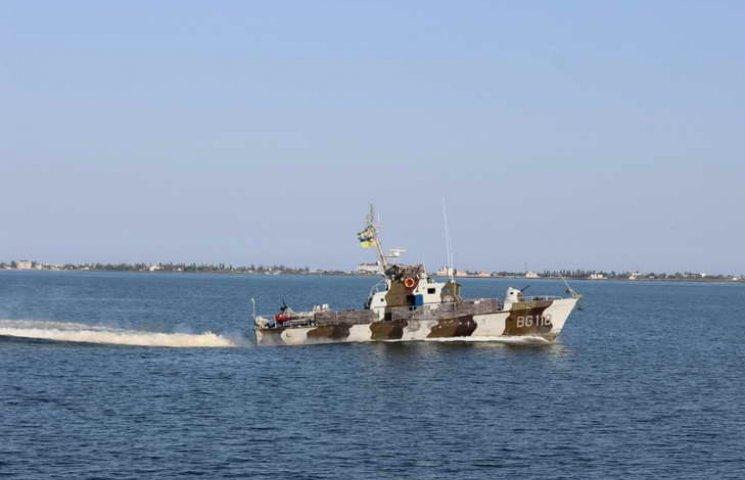 Персонал екіпажів катерів морської охорони відпрацював стрільбу з озброєння, що розташоване на катерах