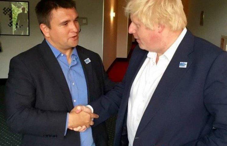 Джонсон: Великобританія підтримує мінський процес по врегулюванню конфлікту на Донбасі