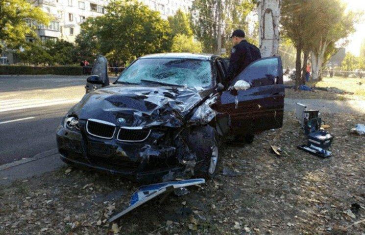 В Николаеве водитель BMW, который насмерть сбил четырех дорожников, был пьян