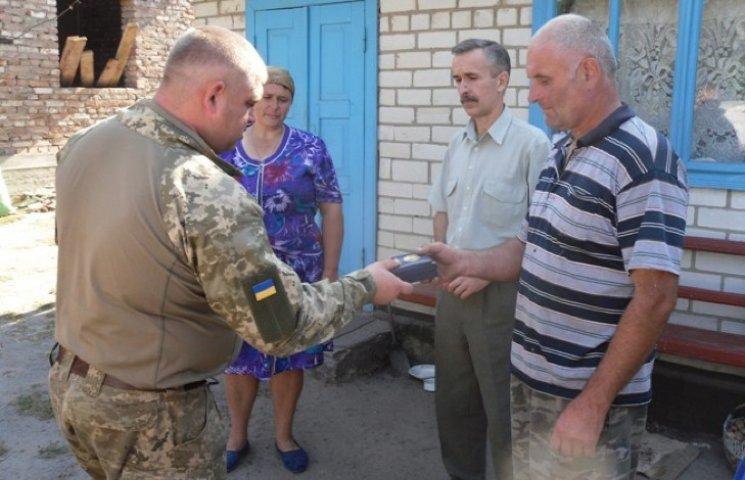 Родині полеглого Володимира Чепелюка з Ізяславщини вручили нагороду