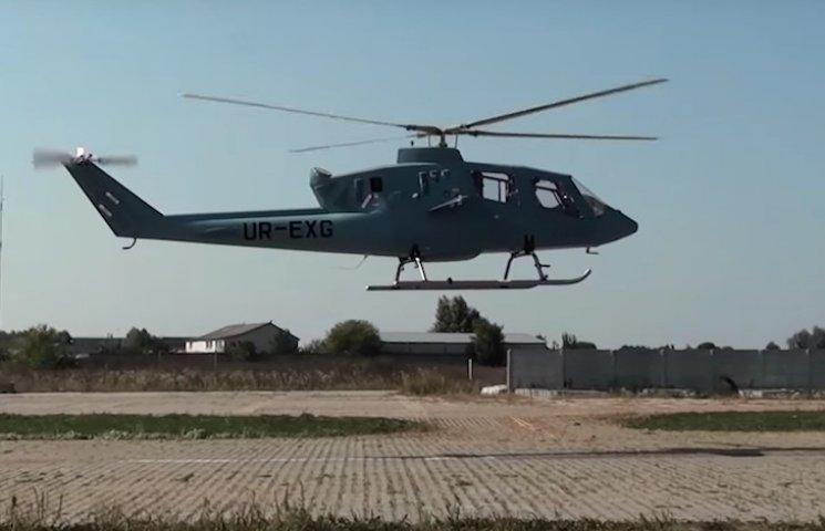 В Україні випробували високошвидкісний вертоліт VV-2