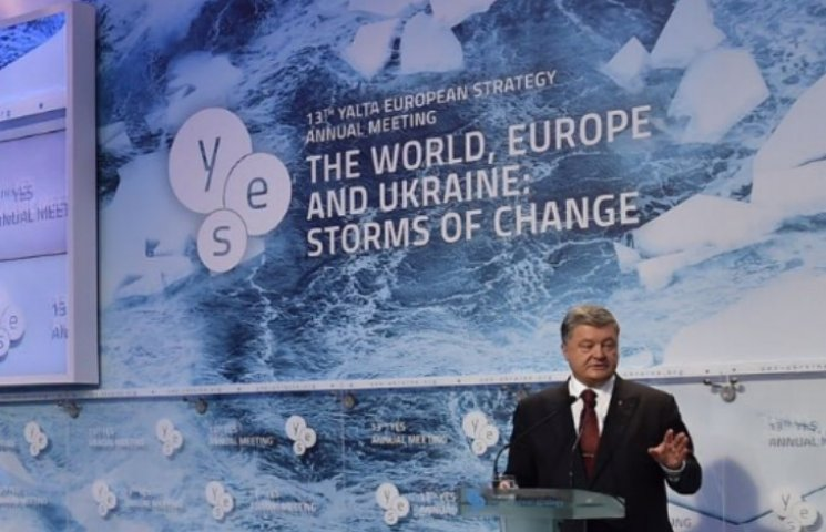Порошенко говорит, что не будет жертвовать Крымом ради Донбасса