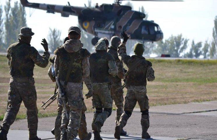 Спецпризначенці-десантники вдосконалюють бойові навички