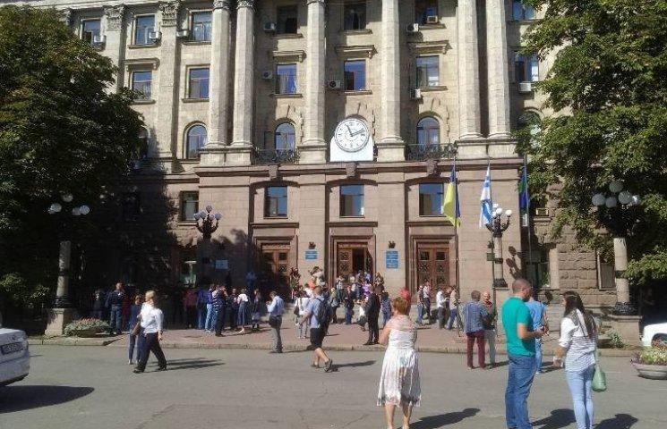 Чергове замінування миколаївської міськради виявилось фейком