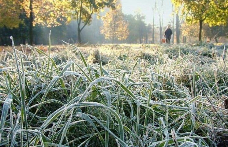 Синоптики радять утеплюватись: На Вінниччину йдуть заморозки