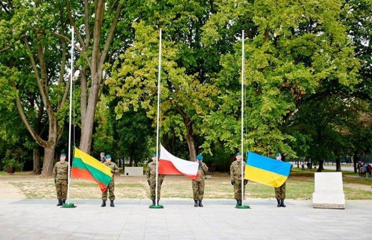 Годовщину создания Литовско-Польско-Украинской бригады отметили В Люблине