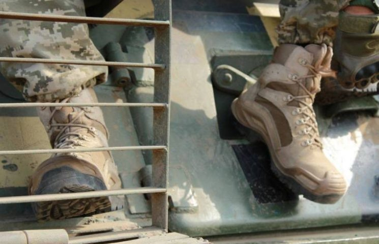 Николаевская 79-ка протестировала боевые ботинки
