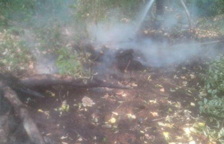 На Деражнянщині горять три гектари торфовищ