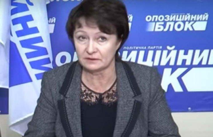 """На Запорожье депутатку от """"Оппоблока"""" оштрафовали за нецензурную брань"""