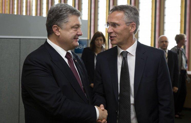 Порошенко розповів генсеку НАТО про обстановку на Донбасі