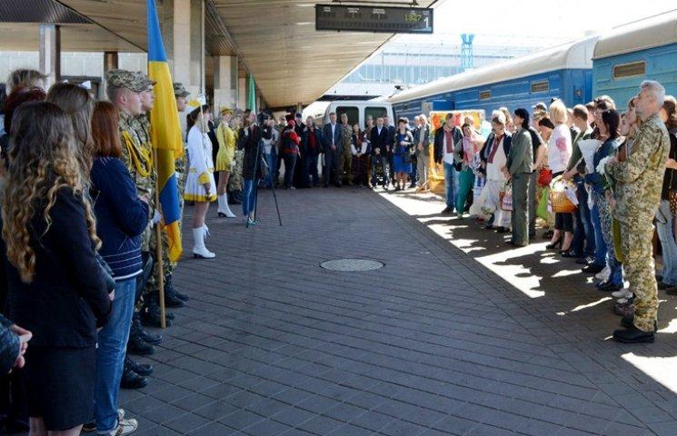 """""""Поезд Единения Украины"""" уже в третий раз будет курсировать по стране"""