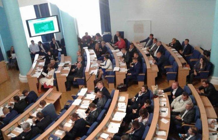 У Вінниці стартувала чергова сесія обласної ради