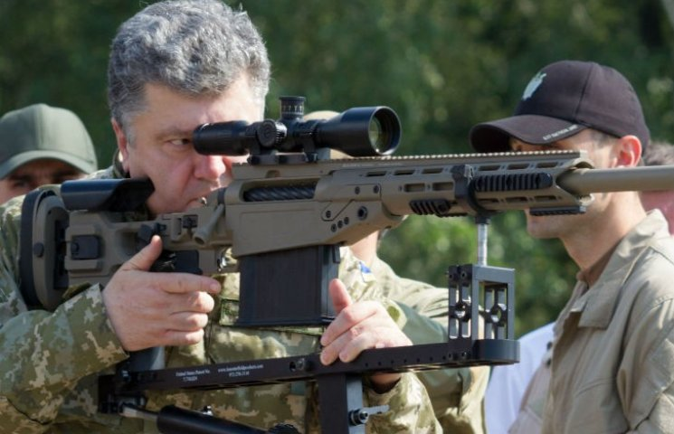 Порошенко поблагодарил Конгресс США за разрешение предоставить Украине оборонительное летальное оружие