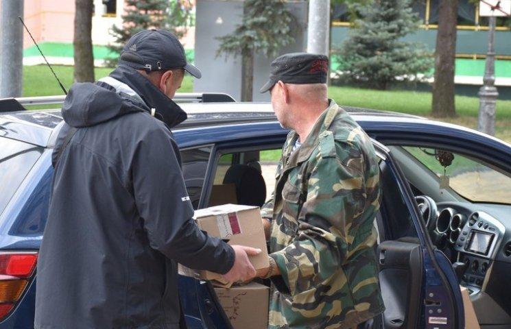 Вінничани відправили в зону АТО три тонни гуманітарки