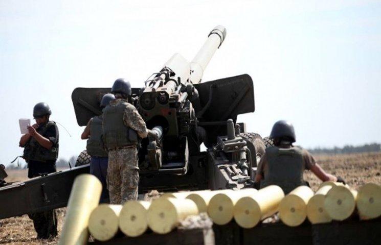 На озброєнні ЗСУ є три типи гармат