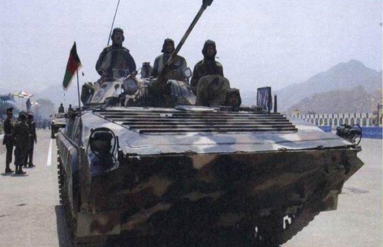 Піхота та десантники в АТО має два види бойових машин