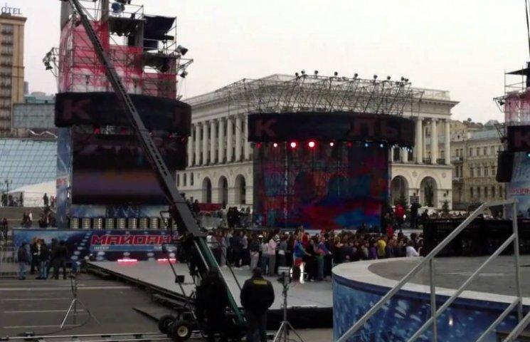 Когда Левочкин снова организует танцы на Майдане