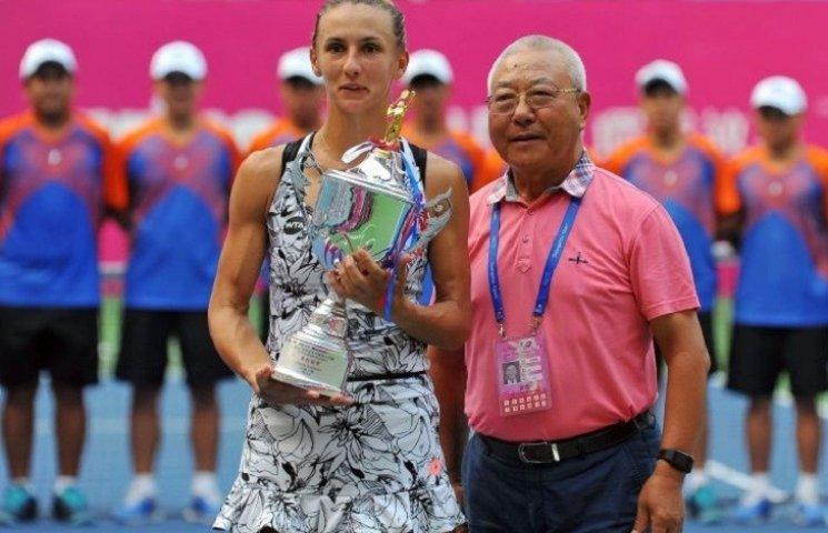 Миколаївська тенісистка виграла престижний турнір в Гуанчжоу