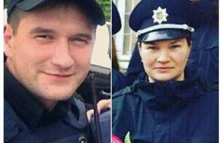 В поліції повідомили імена убитого та постраждалої патрульних у Дніпрі