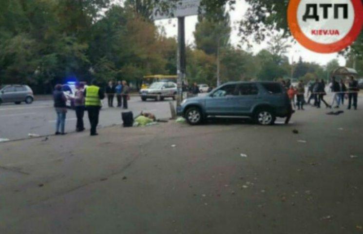 У столиці в ДТП постраждали троє людей