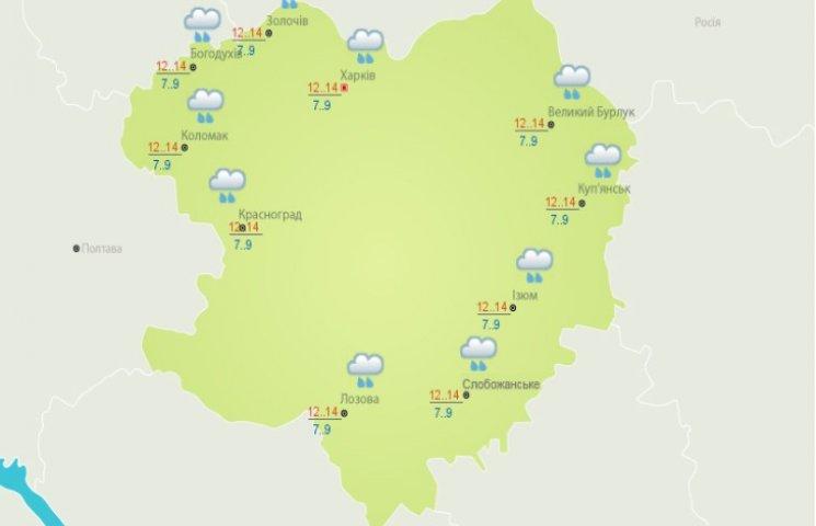 На Харківщині продовжаться зливи