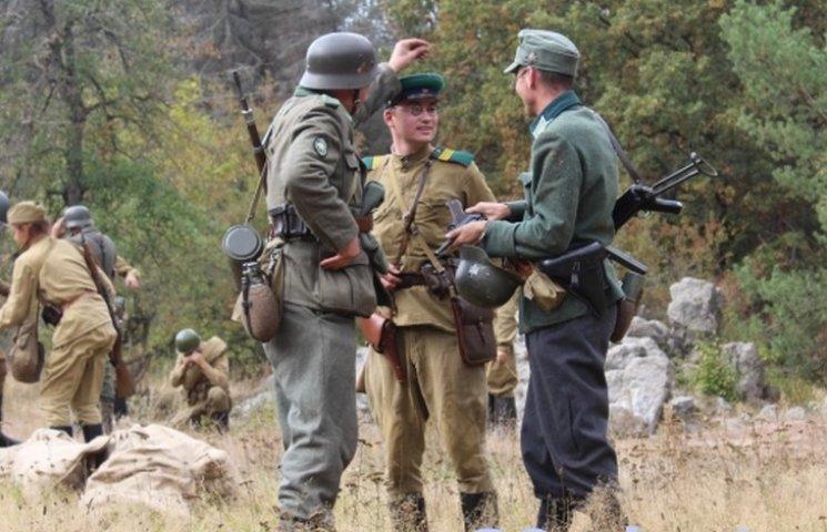 """Під Вінницею відбувся """"бій"""" за """"сценарієм"""" 1943 року"""