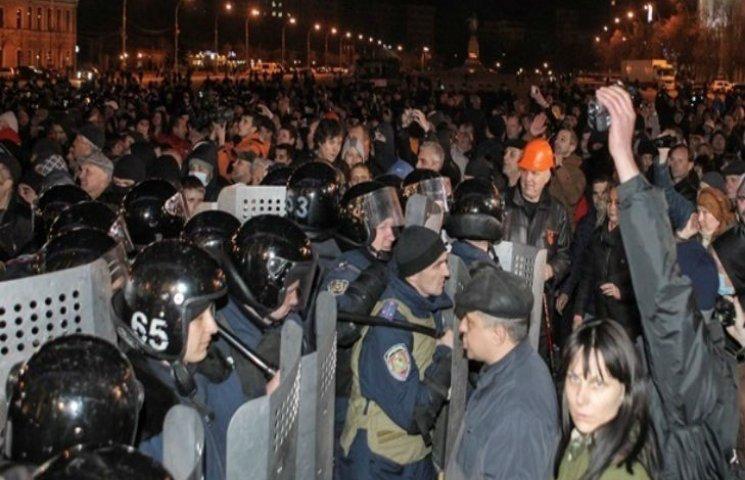 На околиці Харкова затримали учасника масових заворушень